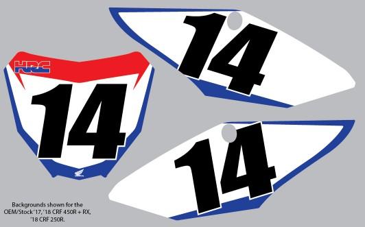 '18 TEAM HONDA HRC BACKGROUNDS